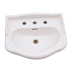 Stanford White 550 Pedestal Sink 8-Inch Widespread