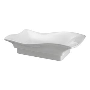Carusso White Wave Vessel Sink