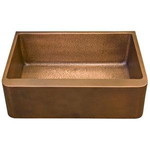 Bentley Antique Copper 33-Inch Single Bowl Farmer Sink