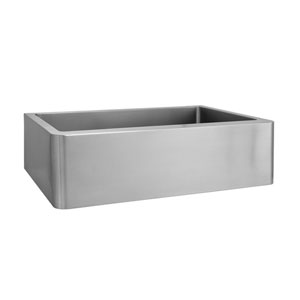 Adelphia Stainless Steel 27-Inch Single Bowl Farmer Sink