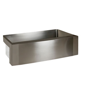 Bremen Stainless Steel 24-Inch Single Bowl Farmer Sink