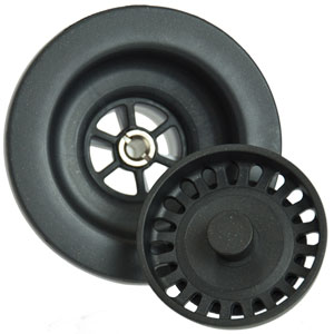 Matte Black Kitchen Strainer for Granite
