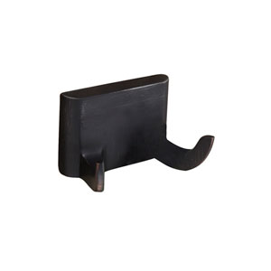 Hennessey Oil Rubbed Bronze Double Robe Hook