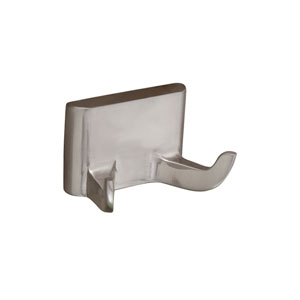 Hennessey Satin Nickel Double Robe Hook