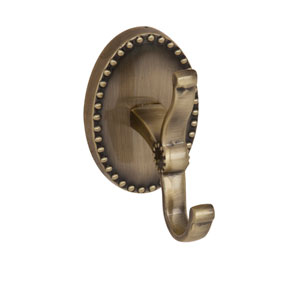 Cordelia Antique Brass Robe Hook