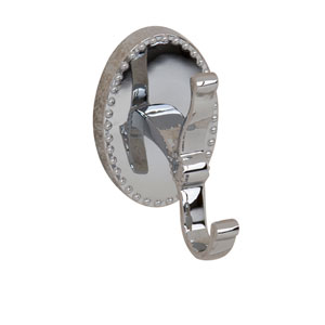 Cordelia Chrome Robe Hook