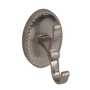 Cordelia Satin Nickel Robe Hook