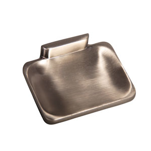 Hennessey Satin Nickel Soap Dish