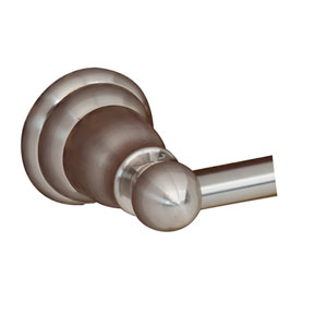 Sherlene Satin Nickel Towel Bar - 18 Inch