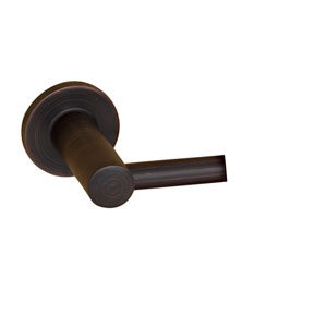 Flanagan Oil Rubbed Bronze Towel Bar - 24 Inch