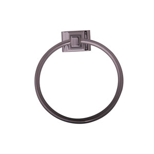 Hennessey Chrome Towel Ring