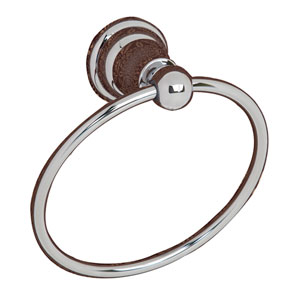 Sherlene Chrome Towel Ring