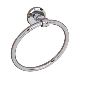 Norville Chrome Towel Ring