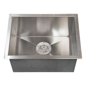 Sabrina Stainless Steel 15-Inch Undermount Prep Sink