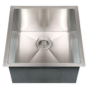 Telly Stainless Steel 19-Inch Undermount Prep Sink