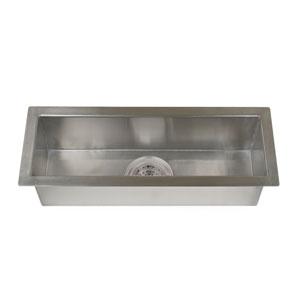 Whitesboro Stainless Steel 23-Inch Zero Radius Trough Sink