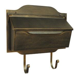 Contemporary Bronze Horizontal Mailbox