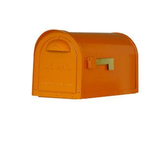 Dylan Orange Curbside Mailbox