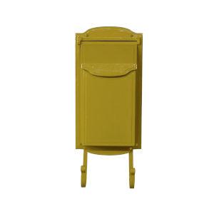 Asbury Yellow Vertical Mailbox