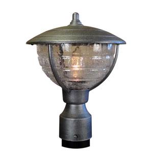 Vista Swedish Silver Medium Post Mount Light