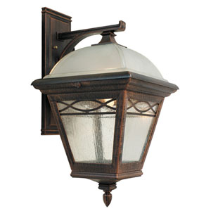 Brentwood Large Top  Mount ? Closed Bottom Light