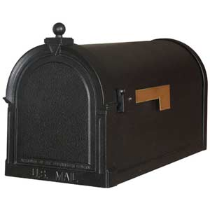 Berkshire Black Curbside Mailbox