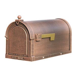 Berkshire Copper Curbside Mailbox