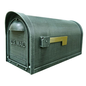 Classic Verde Green Curbside Mailbox