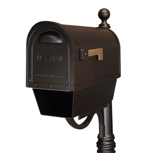 Classic Curbside Mailbox with Paper Tube