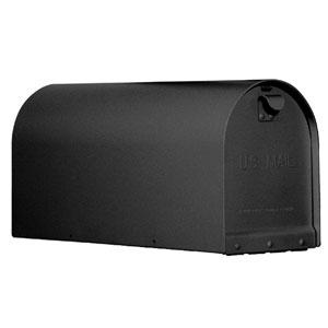 Titan Steel Curbside Mailbox Black