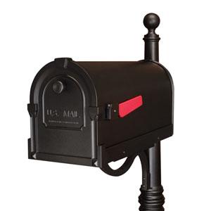 Savannah Black Curbside Mailbox