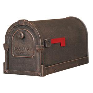 Savannah Copper Curbside Mailbox