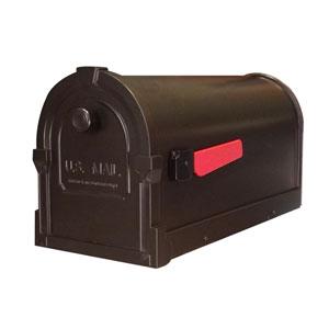 Savannah Curbside Mailbox Bronze