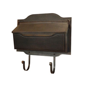 Contemporary Bronze Horizontal Mailbox