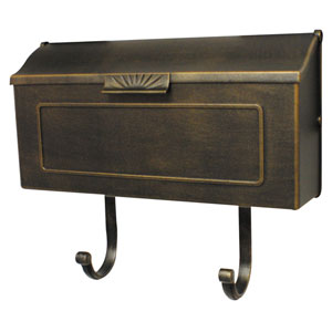 Horizon Bronze Horizontal Mailbox