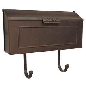 Horizon Copper Horizontal Mailbox