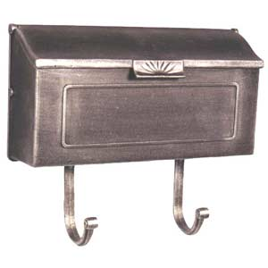 Horizon Swedish Silver Horizontal Mailbox