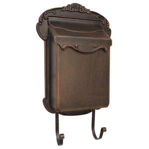 Victoria Vertical Copper Mailbox