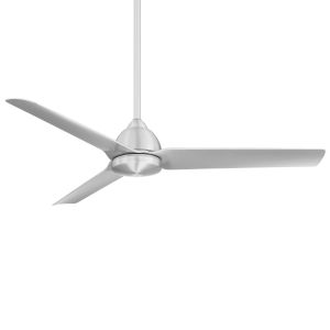 Mocha Brushed Aluminum 54-Inch Ceiling Fan