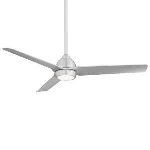 Mocha Brushed Aluminum 54-Inch LED Ceiling Fan