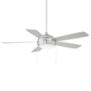 Disc Brushed Nickel 52-Inch LED Ceiling Fan