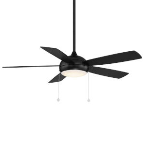 Disc Matte Black 52-Inch LED Ceiling Fan