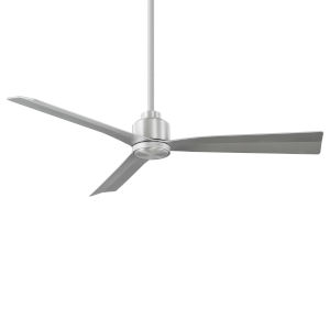 Clean Brushed Aluminum 52-Inch Ceiling Fan