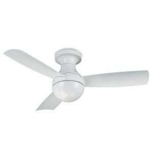 Orb Matte White 44-Inch Ceiling Fan
