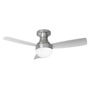 Orb Brushed Nickel 44-Inch LED Ceiling Fan