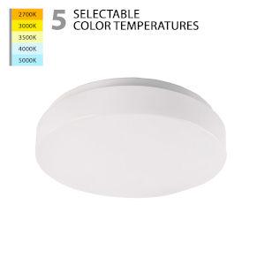 Blo White 13-Inch LED Flush Mount
