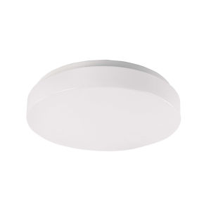 Blo White 13-Inch LED ADA Outdoor Flush Mount