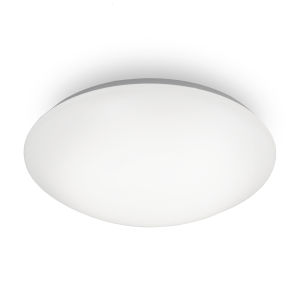 Glo White 17-Inch Outdoor Flush Mount
