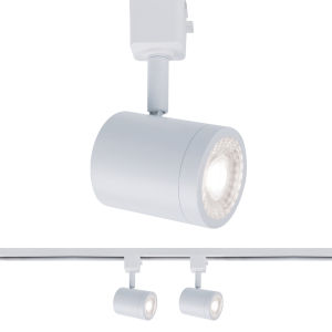 Charge White Two-Inch LED ADA Head Track Light, Pack of 2