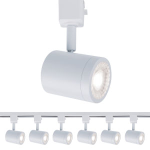 Charge White Two-Inch LED ADA Head Track Light, Pack of 6